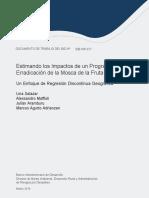Documento Trabajo Bid-wp-677 Estimando Los Impactos de Un Programa de Erradicacion de La Mosca de La Fruta en El Peru