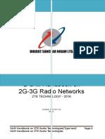 BSNL O&M Handbook on ZTE Radio Technologies 04.06.16 (1)