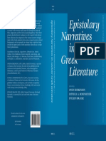 Epistolary Narratives in Ancient Greek L