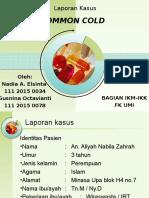 Lapsus Common Cold IKM