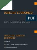 Conceptos de Derecho Económico