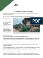 Bolsa Familia Deveria Ser Direito Constitucionalizado Defende Sociologa 755.HTML