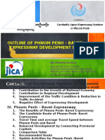 3_Outline of Phnom Penh – Bavet Expressway Development Plan
