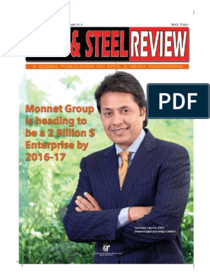 Iron & Steel Review Cover Story pdf | Steel | Corporate