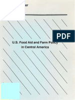 U.S. Food Aid and Farm Policy in Central America, Inter-Hemispheric Education Resource Center, June 1989