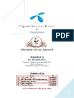 Corporate Governance Practices