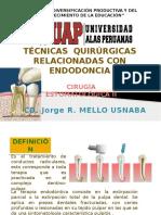 Semana 12- Tecnicas Quirurgicas Relacionadas Con Endodoncia