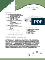 X300 X310 Spec Sheet