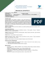 Programa de Fisica Cuántica II