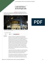 Ya Luce a Nuevo La Sede Del Banco Ciudad, Un Ícono de Los 60 Que Aún Es de Vanguardia