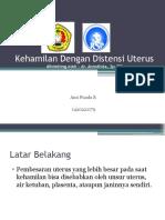 Kehamilan Dengan Distensi Uterus Referat