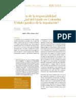 ElRegimenDeLaResponsabilidadPatrimonialDelEstadoEnColombia