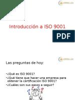 INTRODUCCION 9001-2015