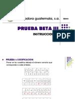 125533644 Prueba Beta III