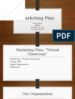 aet 552 marketing plan presentation