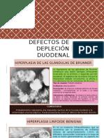 Defectos de Depleción Duodenal