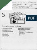Cozby-cap5-2-Metodos de Investigación Del Comportamiento