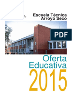 Arroyo Seco Escuela Tecnica Oferta Educativa 2015 2014-12-12