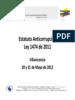 ley 1474 de 2011