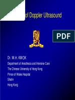 Basic of Doppler Ultrasound