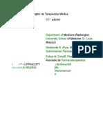 A-El Manual Washington de Terapéutica Médica
