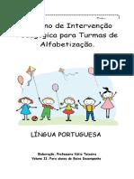 Caderno de Alfabetização Bd