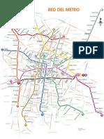 Red del Metro Ciudad de Mexico