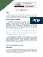 Ficha Modelo Para Programa 16 Pf 5