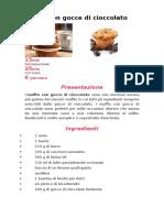 Muffin Con Gocce Di Cioccolato 45c35a729d7