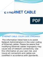 Ehternet Cable