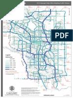 City of Calgary Average Daily Traffic Volume