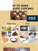 HOW TO MAKE CHOCOLATE CUPCAKE.pptx