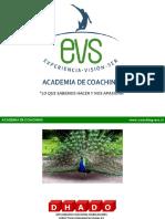 La Practica Del Coaching Organizacional