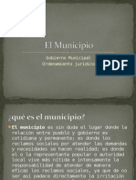 Municipio Ordenamiento Juridico