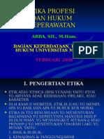 Materi Etika Prof & Hk Kesehatan