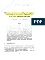Micromechanical Modeling of Sulphate Corrosion in Concrete Influence of Ettringite Forming Reaction (Collected)