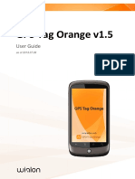 Gps Tag Orange