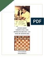 Estudio Casero B28 1.e4 c5 2.Cf3 a6 Por El MF Job Sepulveda