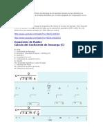La Fórmula Para Calcular El Tiempo de Descarga de Un Depósito