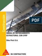 Obras Reforzamiento Estructural Cfrp
