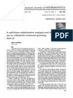 Hold A soft-tissue cephalometric analysis and its use in orthodontic treatment planning. Part II