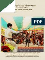 AID Boston - Annual Report 2015