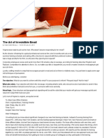 3. the Art of Irresistible Email