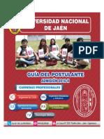 Prospecto Universidad Nacional de Jaen 2016