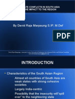 Analysis of Intrastate Conflict in South Asia