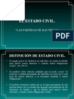 El Estado Civil