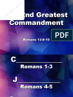 The 2nd Greatest Commandment
