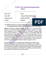 IGNOU MBA MS -91 Solved Assignments 2011.docx