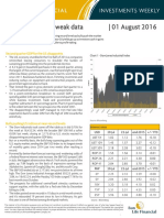 Investments Weekly 2016-08-01