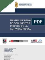 MANUAL DE REDACCION DE DOCUMENTOS PROPIOS DE LA ACTIVIDAD FISCAL
